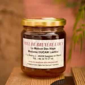 miel de bruyère érica