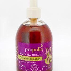 savon propolis liquide